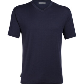 Icebreaker Ravyn SS V-Neck Top Herre midnight navy